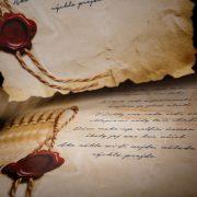 text na pergamenoch
