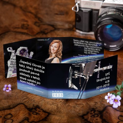 Maturitné oznamko rovno z vesmíru aj s astronautom.