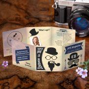 Hipsterské maturitné oznamko odfotené zhora s klasickou oznamkovou fotkou.