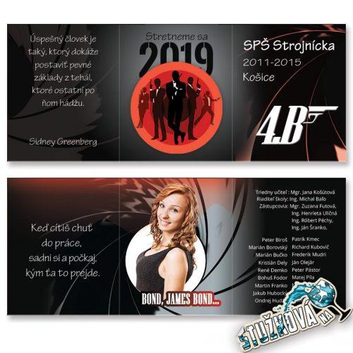 Maturitné oznamko 1416 - Agent 007