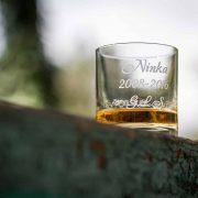 Luxusný pohár na whisky na stužkovú.