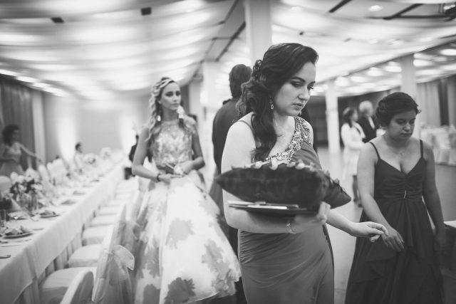 Fotka stužková – Príchod maturantov na stužkovanie
