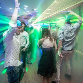 Fotka stužková – Disko svetlá na zábave