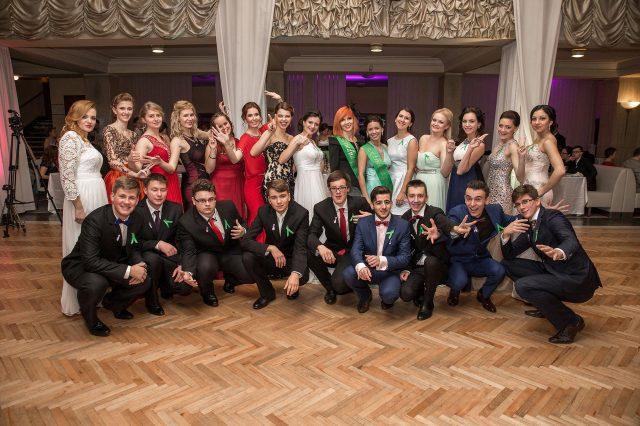 Fotka stužková – Spoločná fotka triedy