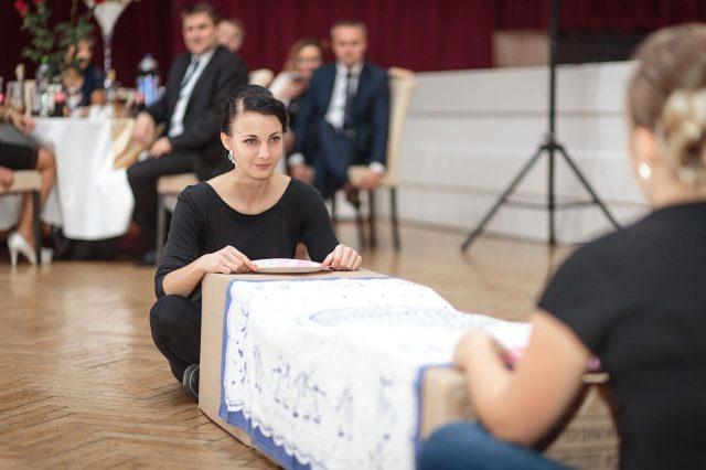 Fotka stužková – Scénka z programu